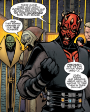 Darth maul speaks with fife and ziton moj