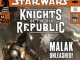 Knights of the Old Republic 42: Masks