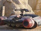 Unidentified Tatooine speeder