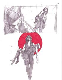 Vos Ventress Dark Disciple Concept Art