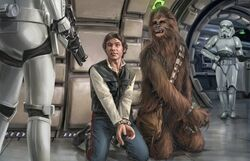 Han and Chewie arrested