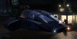 Coruscant Police Speeder