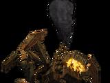 Refuse incinerator droid