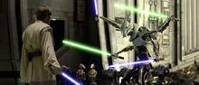 Grievous vs Obi-Wan