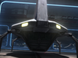 Unidentified Sheathipede-class transport shuttle (Cad Bane's frigate)/Legends