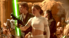 Battle couple on Geonosis