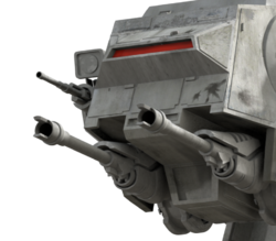 AT-AT MS-1 cannons