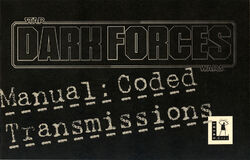 Dark Forces Manual - Coded Transmissions
