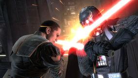 Darth Vader összecsap volt tanítványával