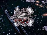 Volan Das's starship