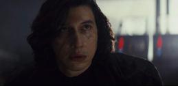 Kylo Ren looking at Rey