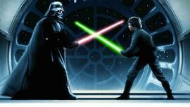 Luke vs Vader - Battle of Endor