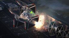TIE Defender Elite strikes TIE