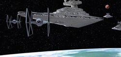 Vader arrival
