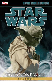 Epic Collection The Clone Wars 1 Cover