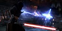 Korriban duel now with lightning