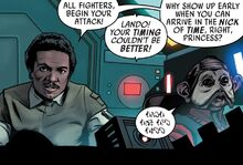 Lando and Nien Nunb Shattered Empire