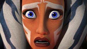 Ahsoka senses Darth Vader