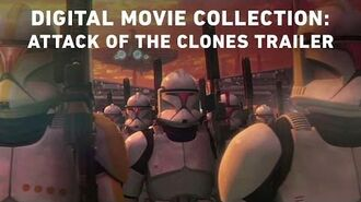 Attack of the Clones - Star Wars The Digital Movie Collection