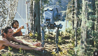 AT-ST Stop Motion Model Endor