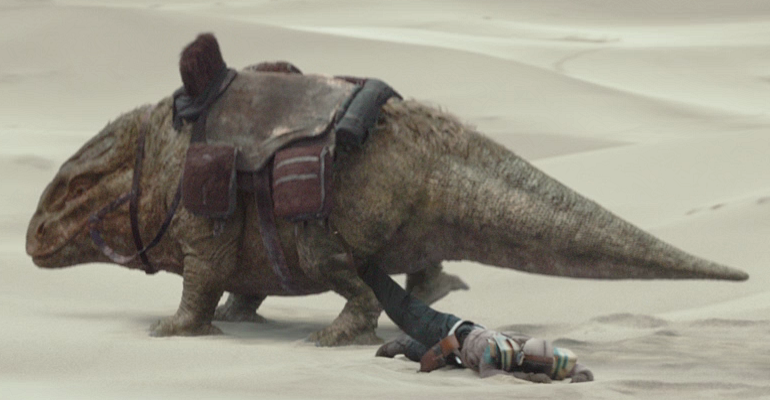Dewback w// 3 SandTroopers /& Luke Skywalker STAR WARS Galactic Mos Eisley