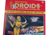 Star Wars: Droids: The Adventures of R2-D2 and C-3PO: The Droid Colouring Book of the Future