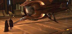 Solar Sailer Coruscant