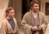 Young Owen and Beru