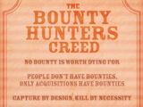 Bounty Hunters' Creed
