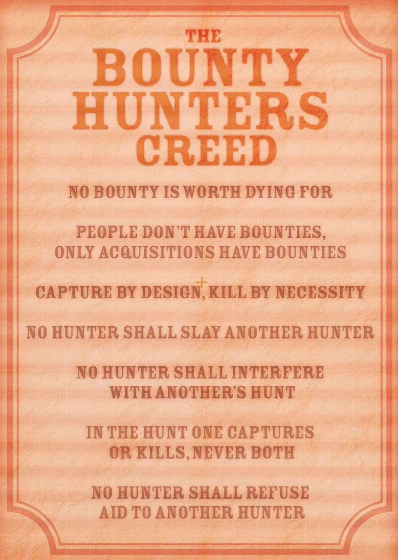 Bounty hunters creed wookieepedia fandom powered by wikia buycottarizona Image collections