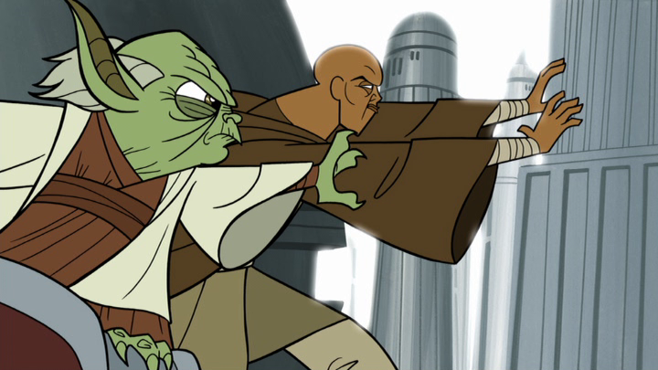 Star Wars Animated Clone Wars Yoda Cartoon Network