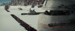 Resistance on crait