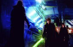 Palpatine Luke Leia EGTF