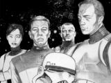 Unidentified female stormtrooper