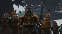 Wookiee warriors Peril on Kashyyyk