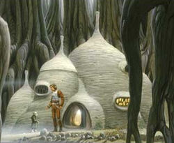 Yoda hut MQ