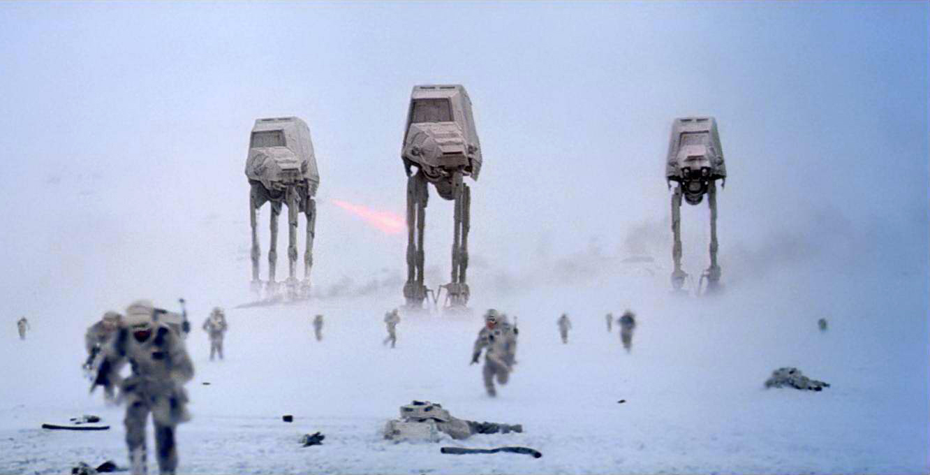 Image result for AT-AT Hoth