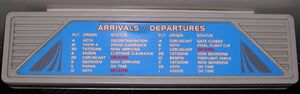 Star Tours DL Arrivals Departures