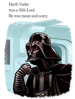 Mean and Scary Darth Vader