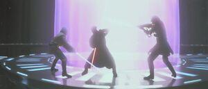 Obi Wan Qui Gon Maul Battle