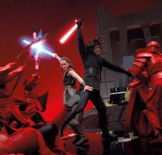Rey and Ren kicking butt