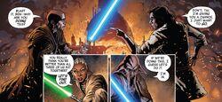 Tai confronts Ben Solo TRoKR1