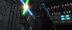 Ahsoka vs Barriss