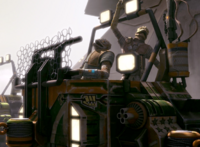 Gilas in a Hover Pod