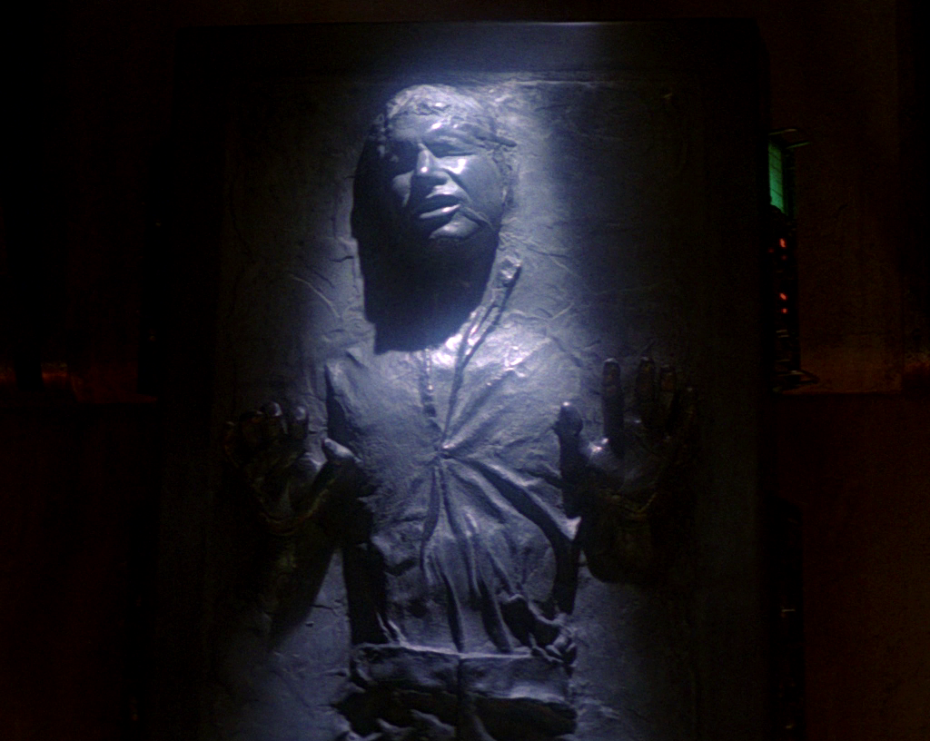 Image result for han solo carbonite