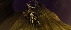 ClimbingDownTheCliff