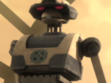 Unidentified T-series tactical droid (Kiros)