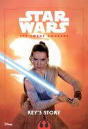 The Force Awakens Reys Story cover