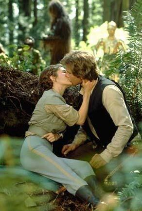 princess leia return of the jedi endor