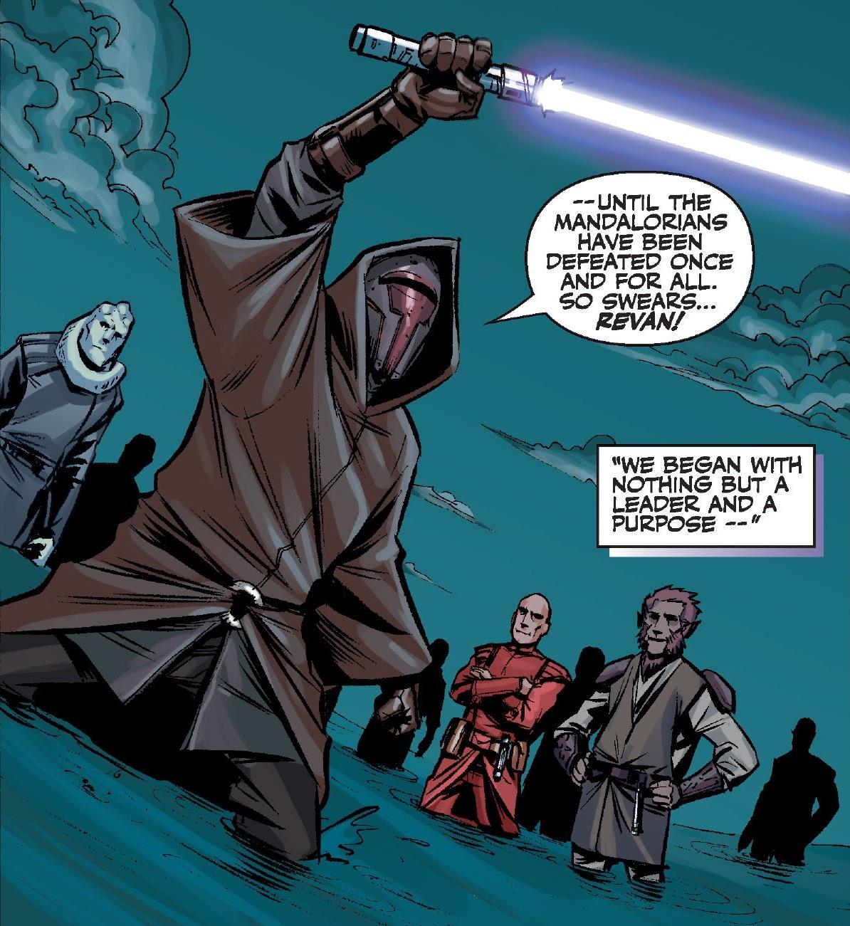 Clone Wars, Mandalorian Jedi. by JohnGWolf on DeviantArt